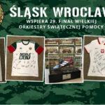 Śląsk Wrocław gra z WOŚP. Weź udział w licytacji