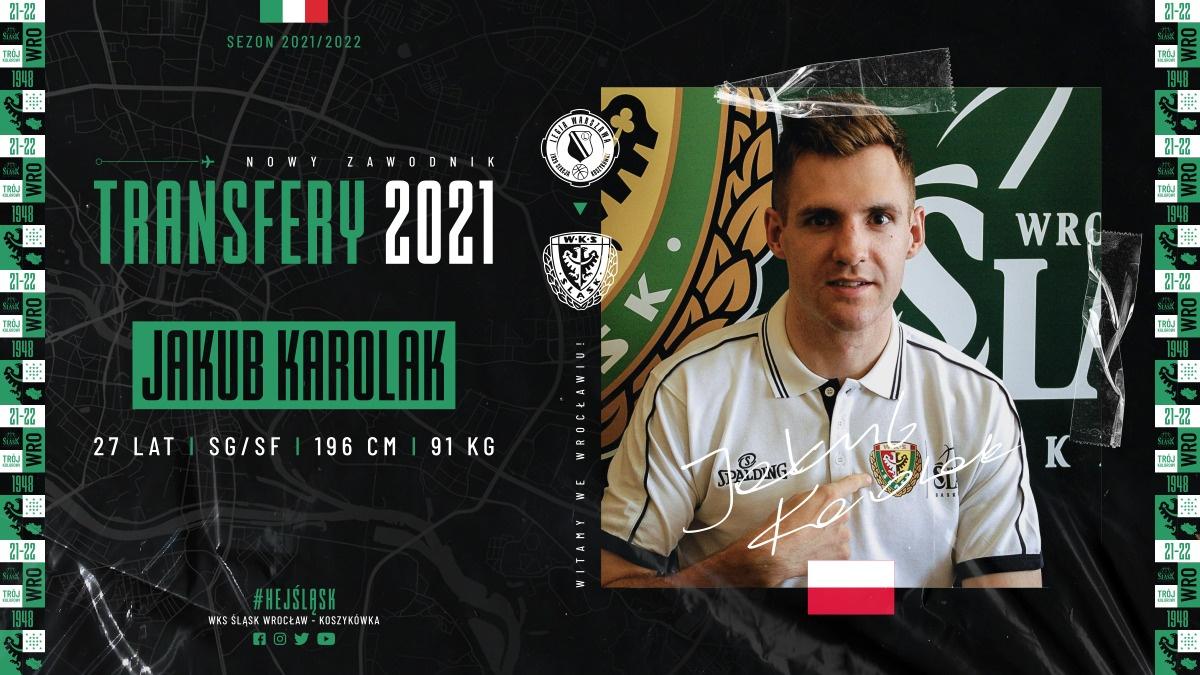 Jakub Karolak oficjalnie w Śląsku Wrocław!