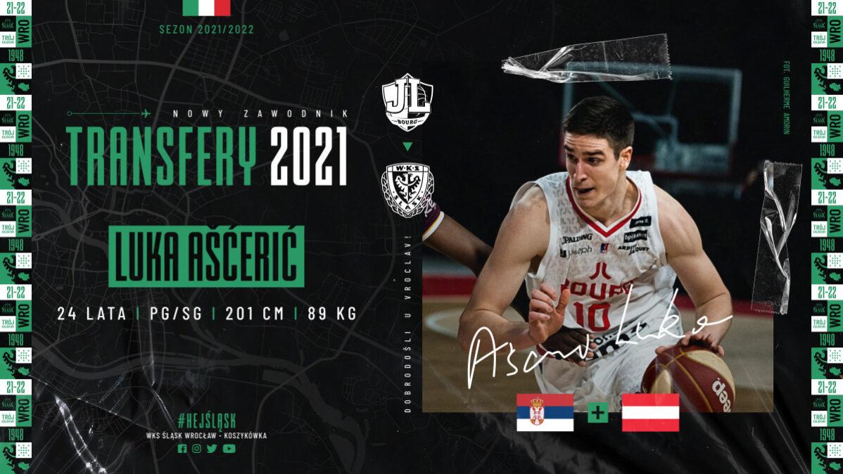 Kolejne wzmocnienie koszykarskiego Śląska