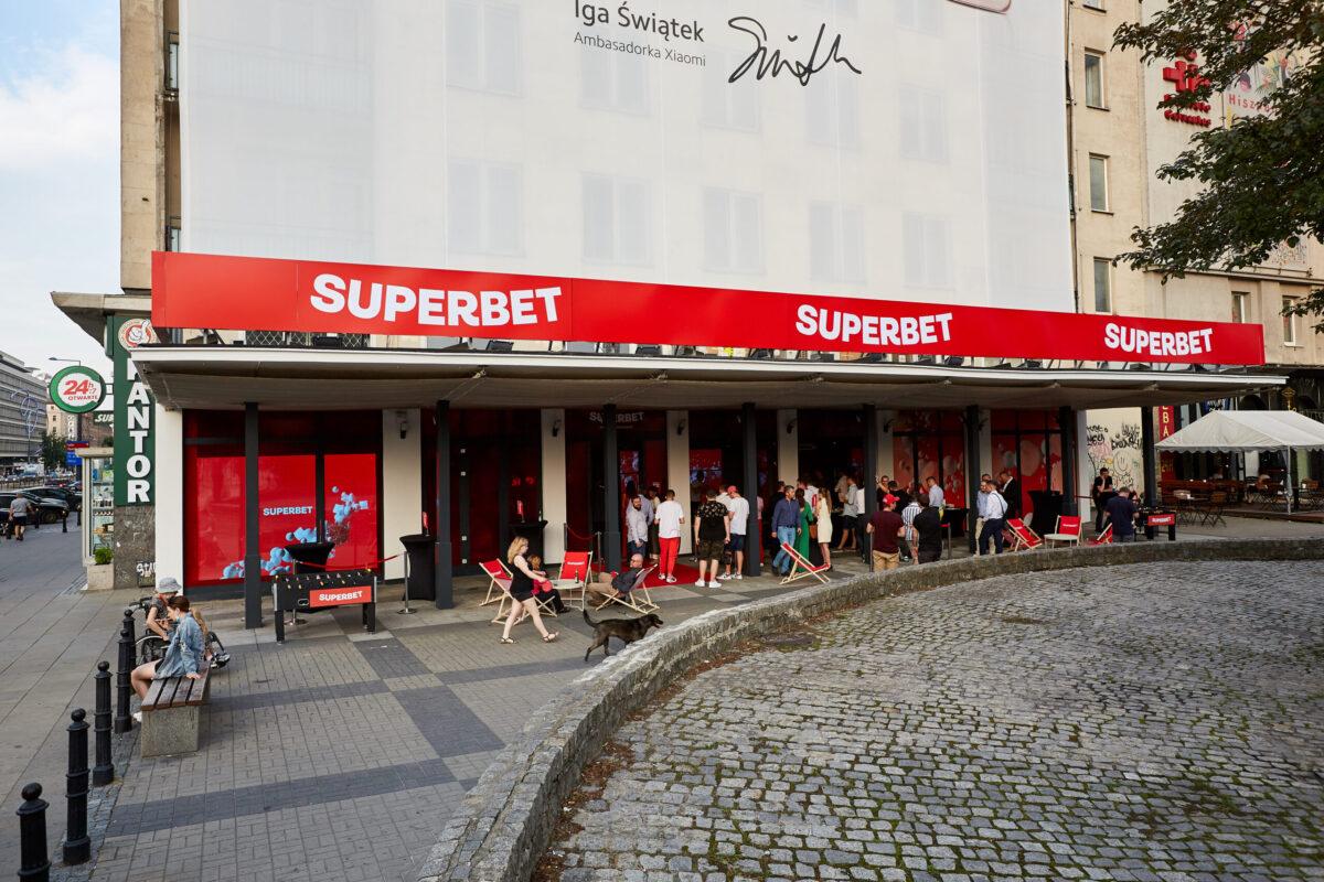 Nasz Partner otworzył w Warszawie supernowoczesny punkt bukmacherski!