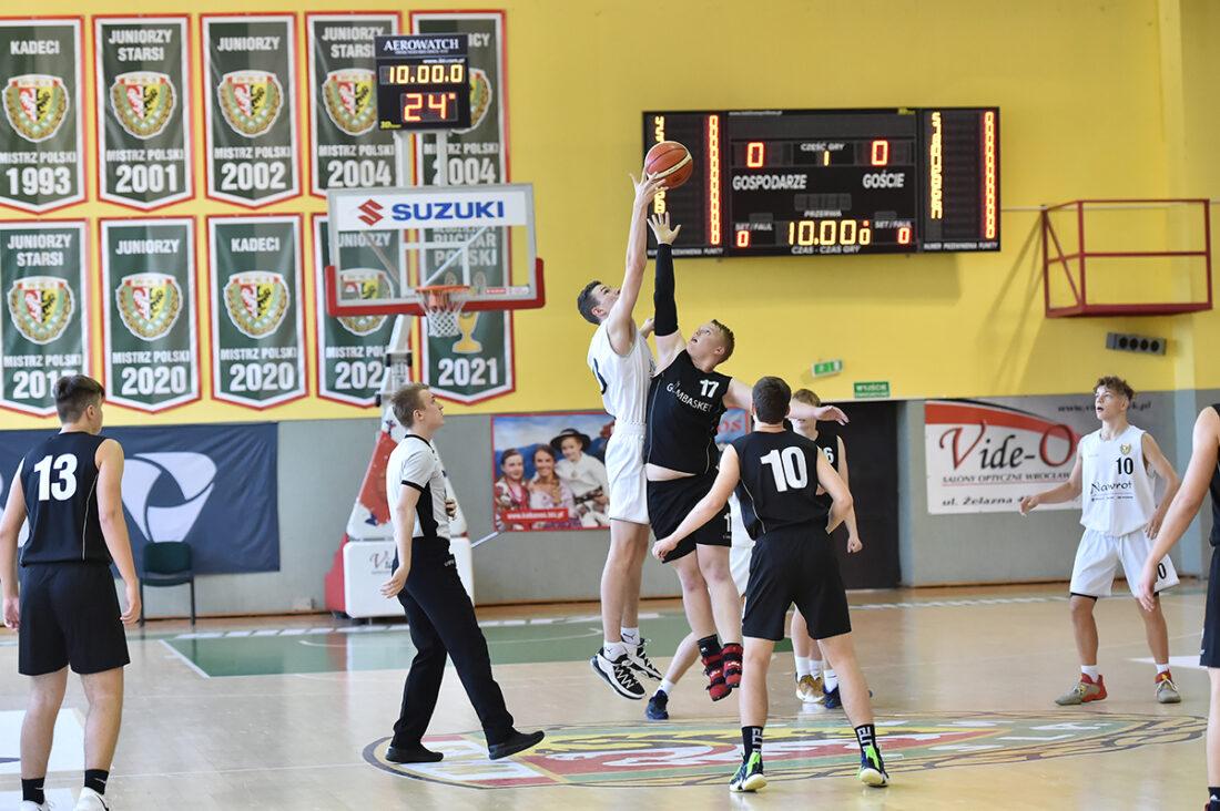 Koszykarskie derby juniorów dla Śląska